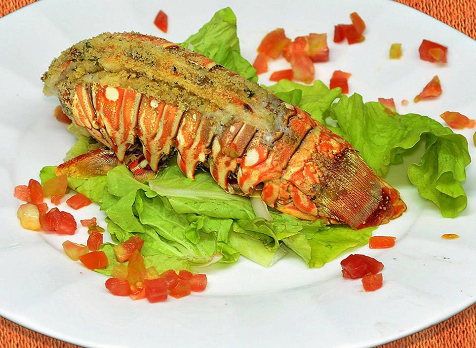 Product Photography - Lobster from Al Pescatore Restaurant. Havana. Cuba
