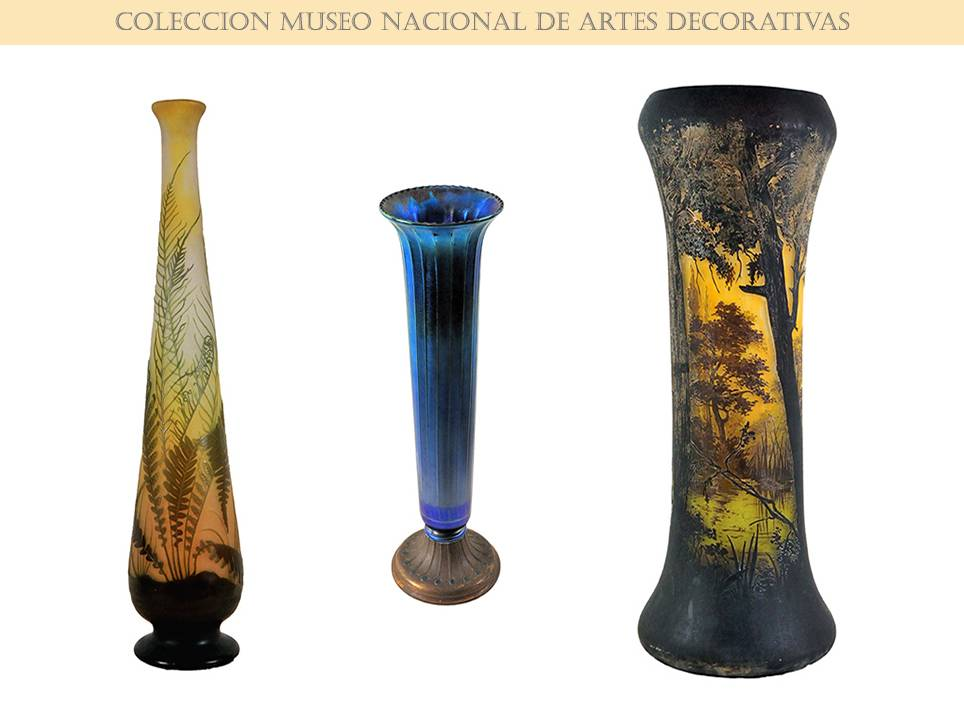 National Museum of Decorative Arts - Havana. Glass Collection