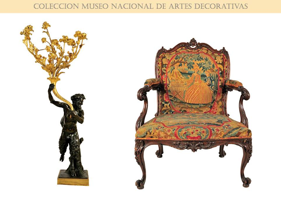 Clodion And Shippendale Pieces. National Museum of Decorative Arts - Havana.