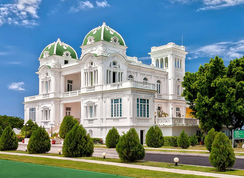 White Palace in Cienfuegos City. Central Cuba.